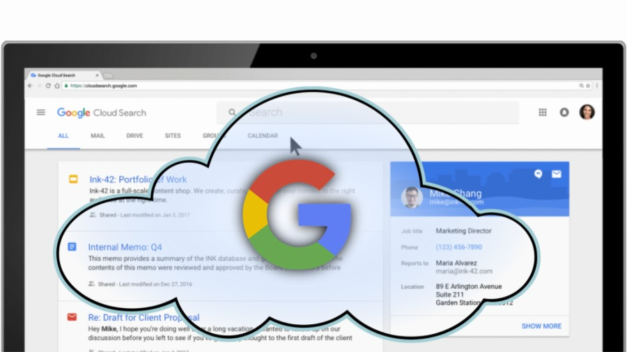 G Suite Cloud Search: Extend Your Search Level
