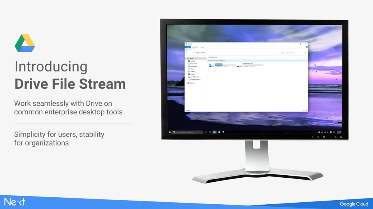 Drive File Stream: Access Loads of Data without Breaking the Process