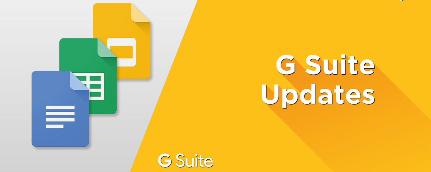Recent G Suite updates