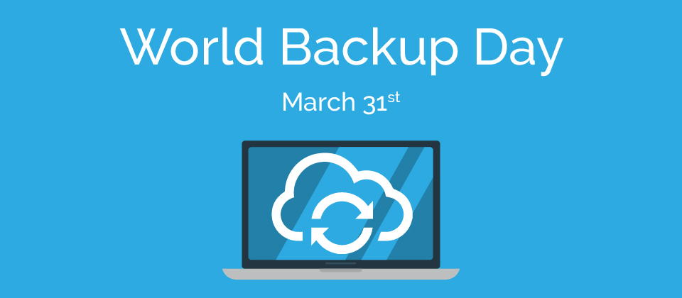 World Backup Day: Take the Pledge